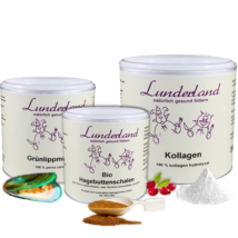 Izületvédő csomag (Lunderland prémium zöldkagylópor, kollagén, csipkebogyópor)